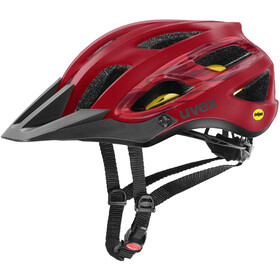 UVEX Unbound Helm camo red black mat